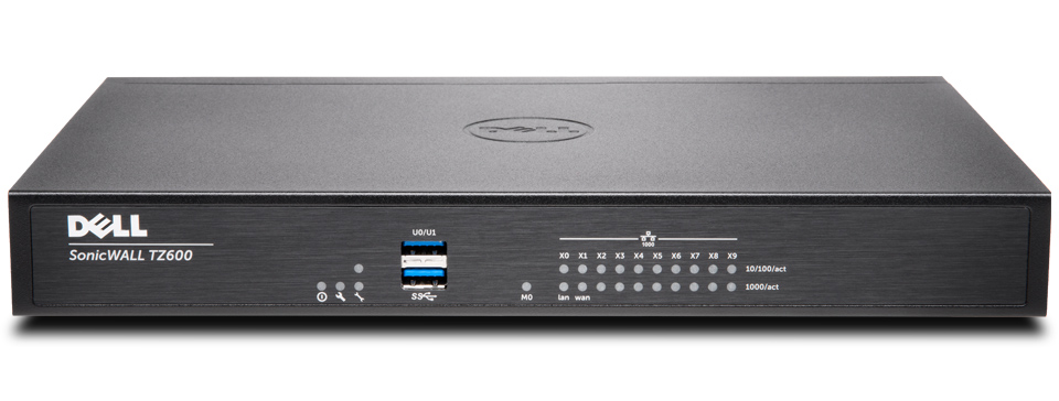 SonicWall TZ500 Hardware Firewall High Availability 1400Mb