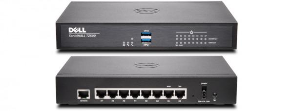 SonicWall TZ500 Hardware Firewall Wireless-AC 1400Mb/s (01