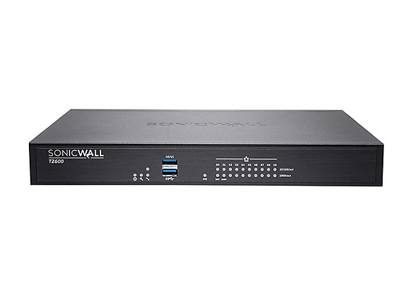 SonicWall TZ600 Hardware Firewall High Availability 1500Mb
